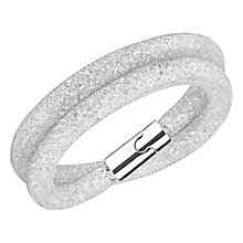 Swarovski Stardust Deluxe clear crystal bracelet M - Product number 3626148