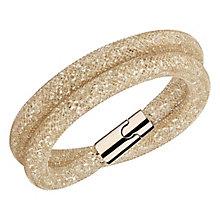 Swarovski Stardust Deluxe rose gold crystal bracelet M - Product number 3626164
