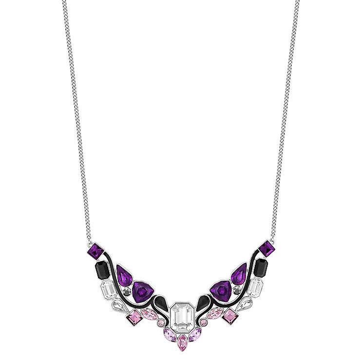Swarovski Impulse medium purple crystal necklace - Product number 3626202
