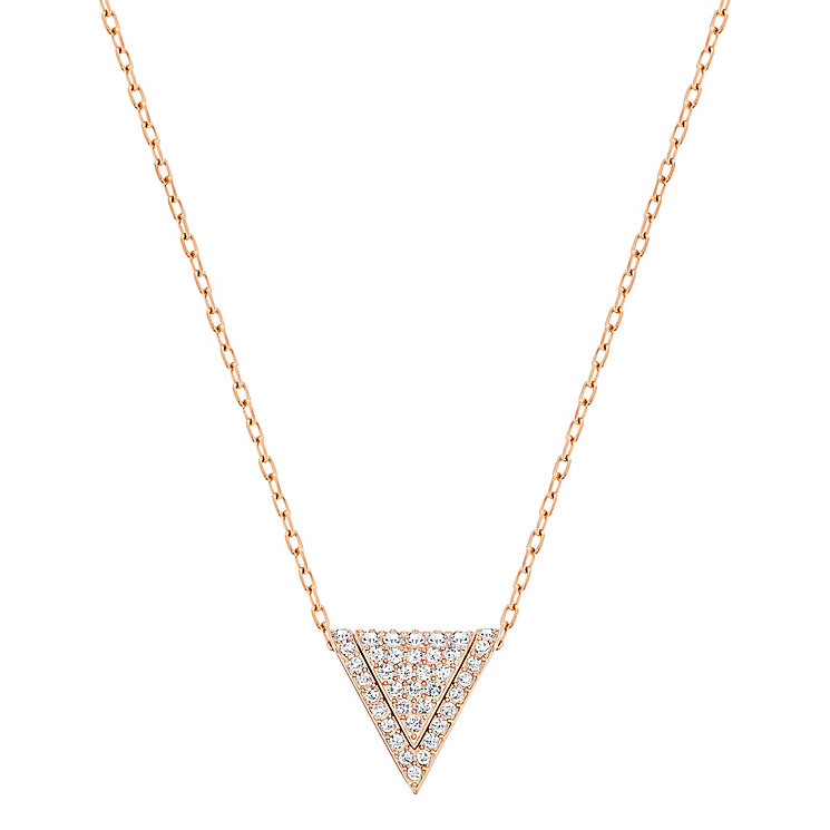 Swarovski Delta crystal triangle pendant - Product number 3626652
