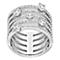Swarovski Creativity white crystal ring size N - Product number 3626695
