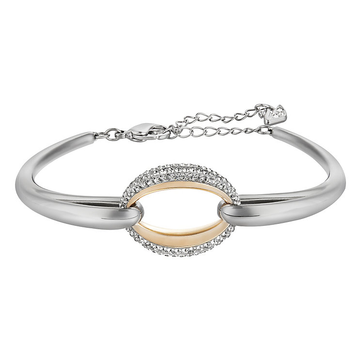Swarovski Circlet white crystal bangle M - Product number 3626768