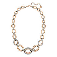 Swarovski Circlet mixed-plated necklace - Product number 3626806
