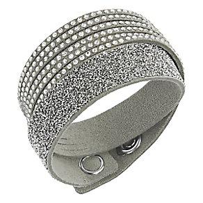 Swarovski Slake Duo light grey crystal bracelet medium - Product number 3629120