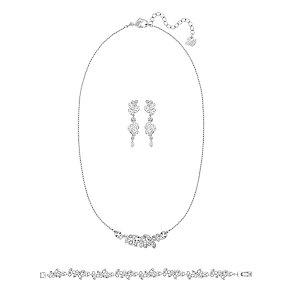 Swarovski Diapason large crystal rhodium-plated set - Product number 3629368