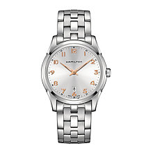 Hamilton men's stainless steel silver dial bracelet watch - Product number 3631931