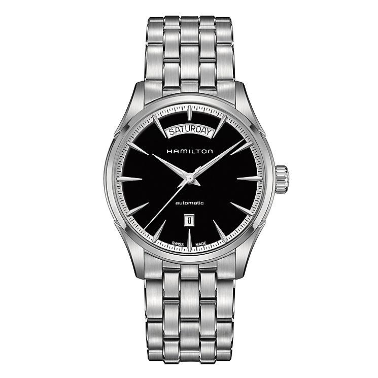 Hamilton Jazzmaster men's stainless steel bracelet watch - Product number 3632334