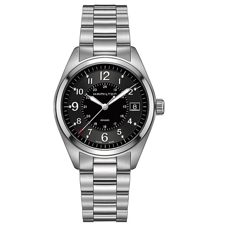 Hamilton Khaki Field men's stainless steel bracelet watch - Product number 3632482