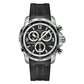 Certina Podium men's stainless steel rubber strap watch - Product number 3636895
