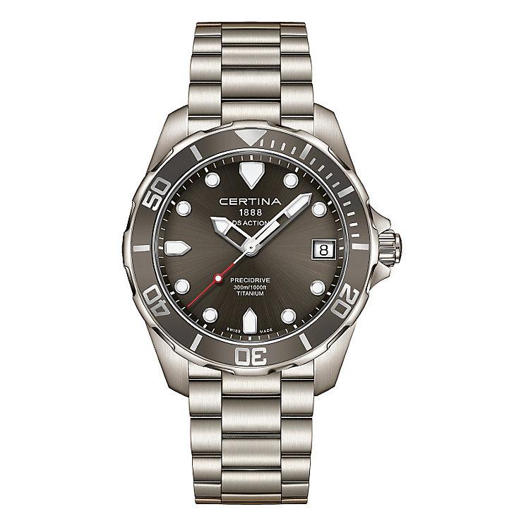 Certina Action men's titanium bracelet watch - Product number 3636941