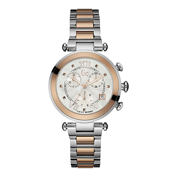 Gc Lady ladies' two colour bracelet watch - Product number 3638650