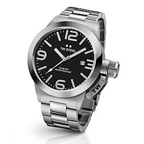 TW Steel Canteen men's stainless steel bracelet watch - Product number 3642127