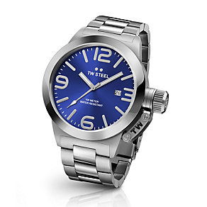 TW Steel Canteen men's stainless steel bracelet watch - Product number 3642305