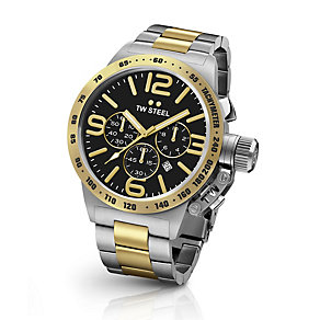 TW Steel Canteen men's two colour bracelet watch - Product number 3642321