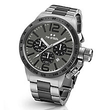 T.W. Steel Canteen men's steel and ion-plated bracelet watch - Product number 3642461