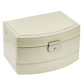 Cream Large Automatic Tray Jewellery Case - Product number 3654834