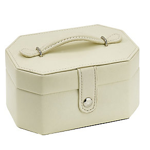 Cream Small Travel Jewellery Case - Product number 3654958