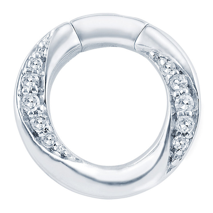 Miracle Links 9ct white gold diamond link - Product number 3664953