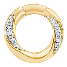 Miracle Links 9ct gold diamond link - Product number 3664961