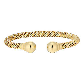 9ct gold Italian bangle - Product number 3667790