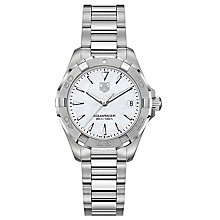 TAG Heuer Aquaracer ladies' stainless steel bracelet watch - Product number 3669246