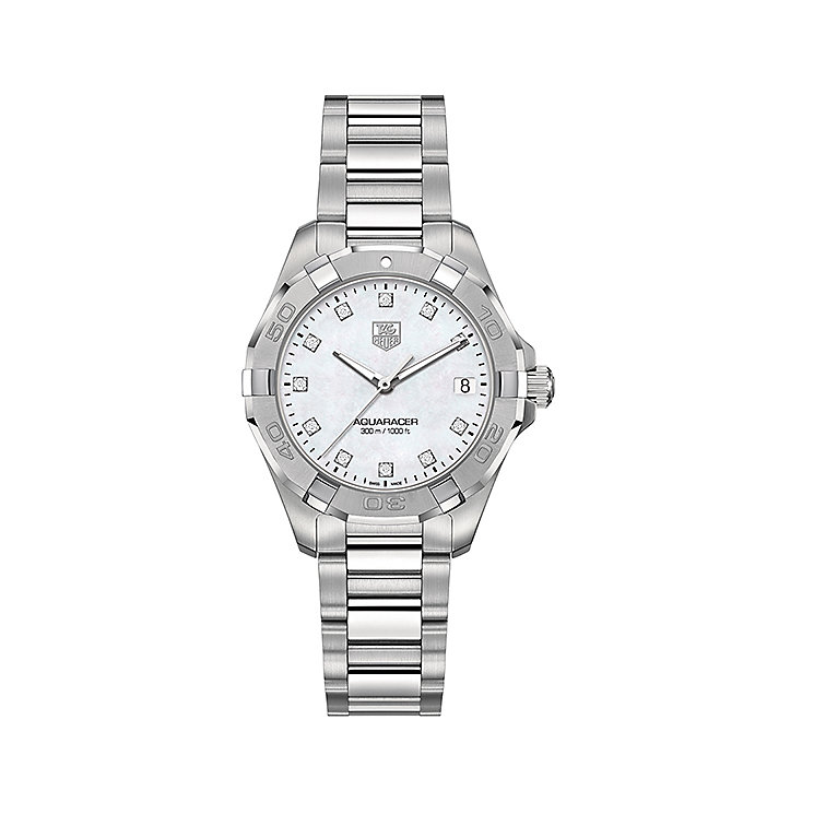 TAG Heuer Aquaracer ladies' stainless steel bracelet watch - Product number 3669254