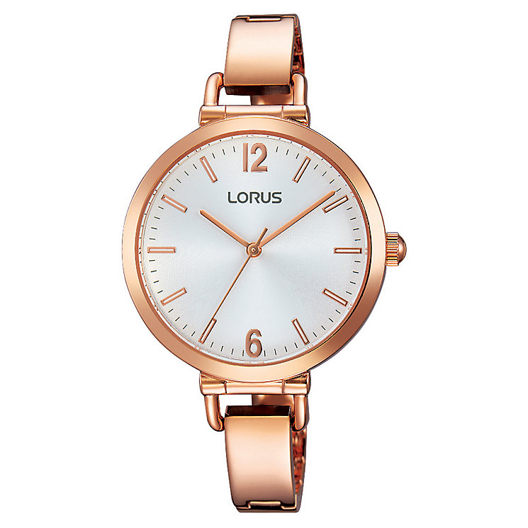 Lorus Ladies' Rose Gold Bracelet Watch - Product number 3669556