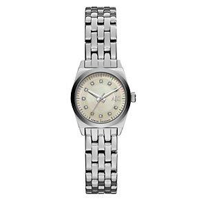 Armani Exchange Ladies' Stainless Steel Bracelet Watch - Product number 3669920