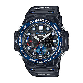Casio G-Shock Gulfmaster Black Dial Black Resin Strap Watch - Product number 3671119
