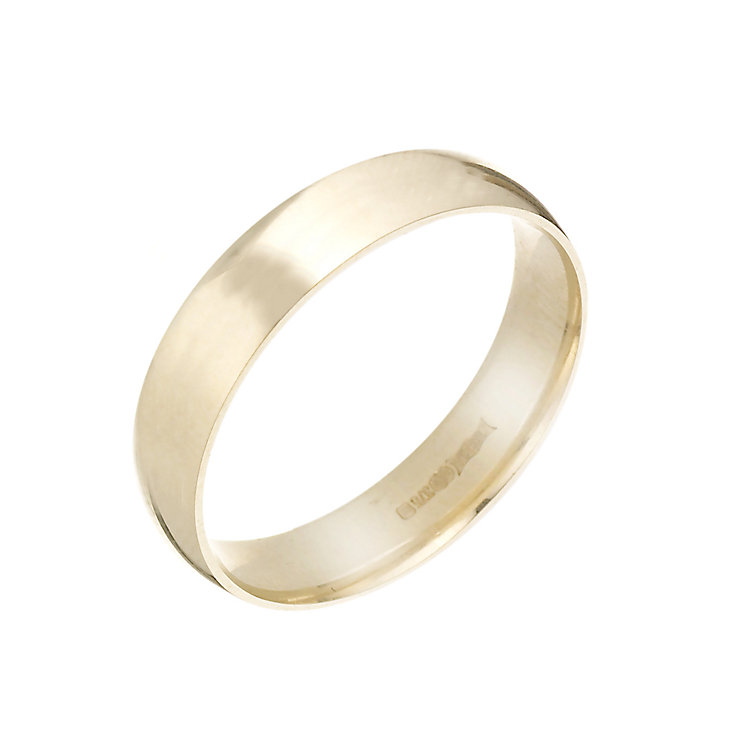 9ct Gold 5mm Wedding Ring - Product number 3671518