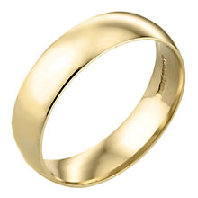 9ct Gold  6mm Wedding Ring - Product number 3671607