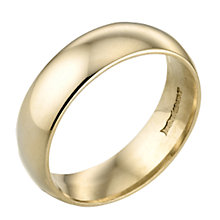 9ct Gold Plain Ring - Product number 3671666