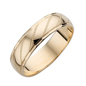 9ct Yellow Gold Men