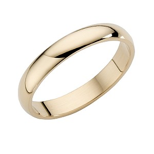 18ct Yellow Gold Extra Heavyweight Wedding 3mm Ring