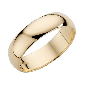18ct Yellow Gold 5mm Extra Heavyweight Wedding Ring