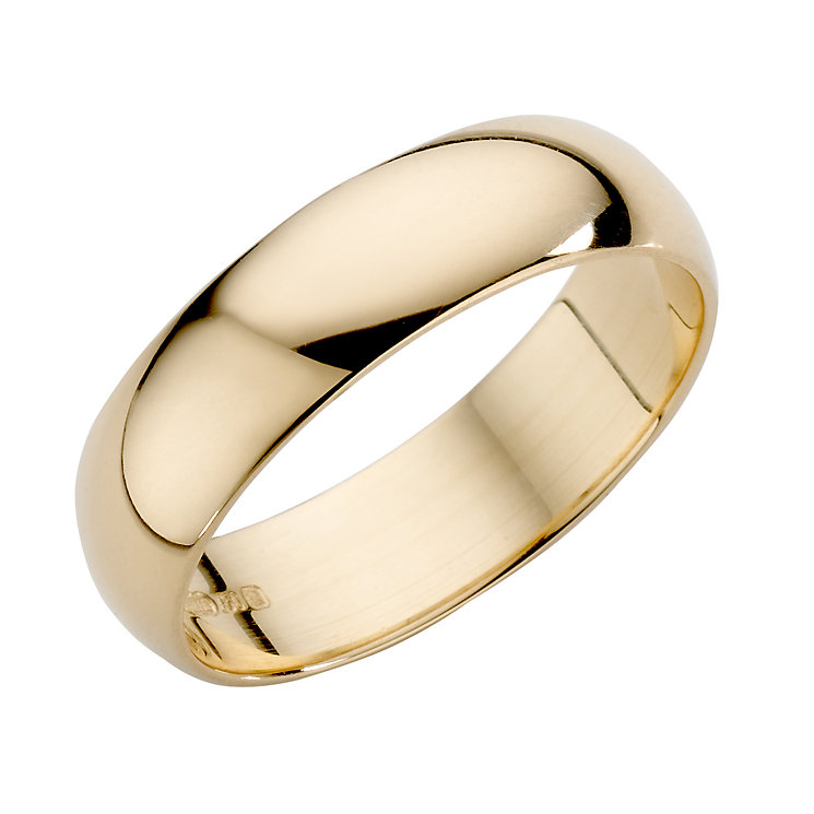 18ct Yellow Gold 5mm Extra Heavyweight Wedding Ring - Product number 3672298