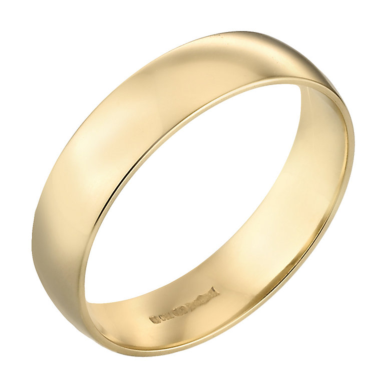 18ct Gold Extra Heavyweight 6mm Wedding Ring - Product number 3672387