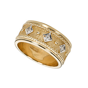 9ct gold diamond wedding ring - Product number 3672689