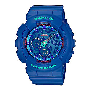 Casio Baby-G Blue Dial Blue Resin Strap Watch - Product number 3673510
