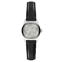 Armani Exchange Ladies' Black Leather Strap Watch - Product number 3673774
