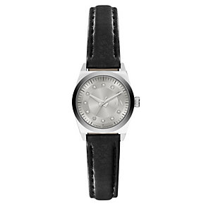 Armani Exchange Ladies' Black Leather Strap Watch - Product number 3673774