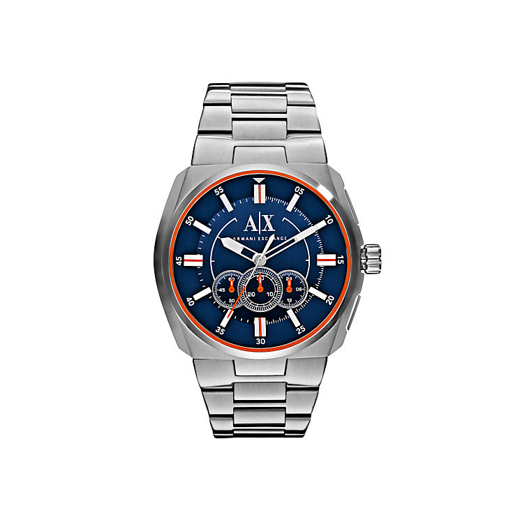 Armani Exchange Men's Stainless Steel Bracelet Watch - Product number 3674762