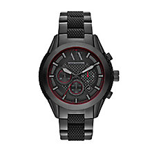 Armani Exchange Men's Black Ion-Plated Bracelet Watch - Product number 3674894