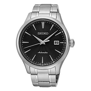 Seiko Men's Automatic Stainless Steel Bracelet Watch - Product number 3690709