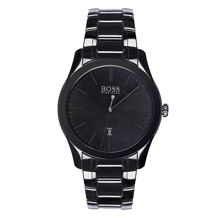 Hugo Boss black ceramic black dial bracelet watch - Product number 3692043