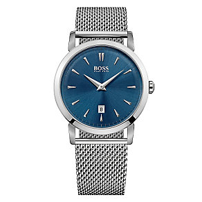 Hugo Boss men's stainless steel bracelet watch - Product number 3692051