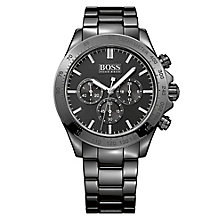 Hugo Boss men's black ceramic bracelet watch - Product number 3692086
