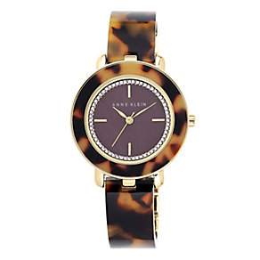 Anne Klein Ladies' Tortoise shell Effect Bracelet Watch - Product number 3716325