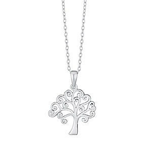 Sterling Silver Tree Of Life Pendant - Product number 3717003