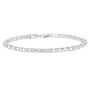 Sterling Silver Mirrored Bracelet - Product number 3717828